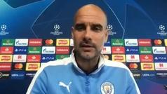 """Guardiola: """"Benzema es extraordinario, pero uno entre 20 más cuando me preguntan si alguien está al"""