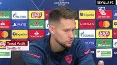 """Vaclik: """"El Chelsea tiene a Werner, Havertz, Pulisic... un ataque muy fuerte"""""""