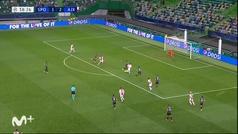 Gol de Berghuis (1-3) en el Sporting Portugal 1-5 Ajax