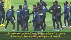 """Tuchel, sobre Cavani: """"No está con el grupo, nada ha cambiado"""""""