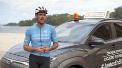 Óscar Pereiro, colaborador de #JuntosEnElAsfalto, iniciativa de Hyundai