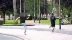 Un ertzaina de paisano detiene a un ladrón en Bilbao con un épico sprint digno de medalla olímpica
