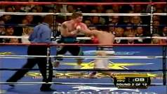 Pacquiao destruyó a Ricky Hatton en el segundo asalto