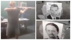 Simulan un fusilamiento con fotos del Gobierno: Pablo Iglesias denuncia amenazas de muerte en un víd