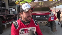 Fernando Alonso en el Ula-Neom Rally, etapa 2