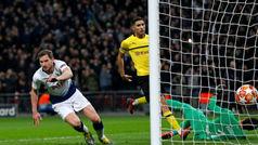 Gol de Vertonghen (2-0) en el Tottenham 3-0 Dortmund