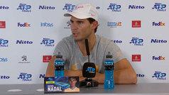 """Rafa Nadal: """"Debo mejorar bastante si quiero hacer algo aquí; no he competido"""""""