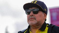 La enésima celebración de Maradona en México