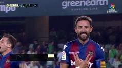 Gol de Morales (0-3) en el Betis 0-3 Levante