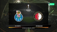 Europa League (Grupo G): Resumen y goles del Oporto 3-2 Feyenoord