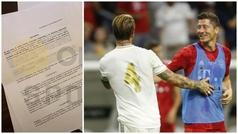 Desvelado el contrato que Lewandowski nunca firmó con el Real Madrid