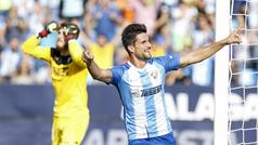 LaLiga 123 (J5): Resumen y goles del Málaga 3-0 Córdoba