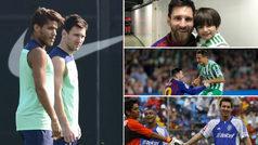 Las grandes postales de Lionel Messi con futbolistas mexicanos