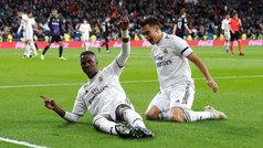 Copa del Rey (octavos, ida): Resumen y goles del Real Madrid 3-0 Leganés
