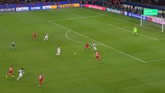 Gol de Higuaín (0-2) en el Leverkusen 0-2 Juventus