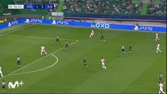 Gol de Haller (1-4) en el Sporting Portugal 1-5 Ajax