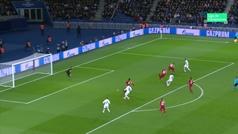 Gol de Sarabia (2-0) en el PSG 5-0 Galatasaray