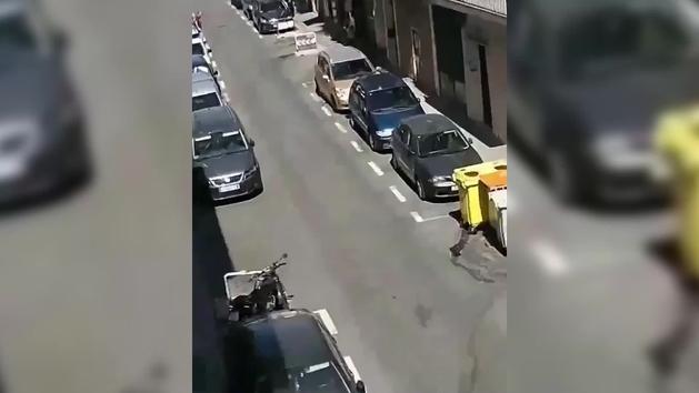 Un policía dispara a un joven que había intentado apuñalar a una agente en Carabanchel