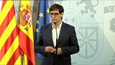 """Salvador Illa advierte a Madrid que el Gobierno puede """"tomar el control"""""""