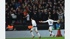 Gol de Fernando Llorente (3-0) en el Tottenham 3-0 Dortmund
