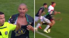 El Cata Díaz vuelve al fútbol con 40 años y protagoniza dos 'no penaltis'