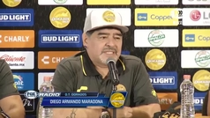 """Maradona: """"Desde que dejé las drogas, dijeron que ya no iba a hacer más cosas en mi vida"""""""