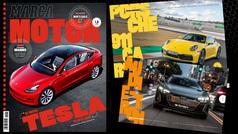 El Tesla Model 3, protagonista del nuevo número de la revista MARCA Motor