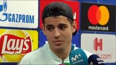 """Morata: """"Vamos allí a la guerra con un buen resultado"""""""