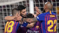 Copa del Rey (cuartos, vuelta): Resumen y goles del Barcelona 6-1 Sevilla