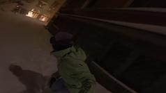 La trepidante 'patrulla' nocturna de Queralt Castellet por St. Moritz