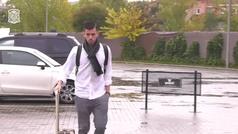 Hermoso, Brais Méndez y Fornals llegan a la concentración de la selección española