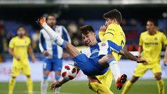Copa del Rey (octavos, ida): Resumen y goles del Villarreal 2-2 Espanyol