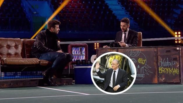 "La curiosa llamada de Florentino Pérez a Piqué: ""No era de fútbol..."""