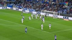 Gol de Jony (2-0) en el Alavés 2-2 Valladolid