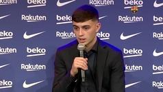 """Pedri: """"Me importa más el proyecto que tiene el Barça que mi cláusula"""""""