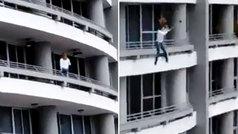 Escalofriante caída de una mujer que se hacía un selfie desde un piso 27 en Panamá