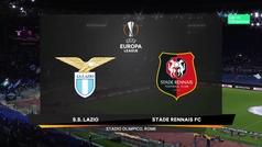Europa League (J2): Resumen y goles del Lazio 2-1 Rennes