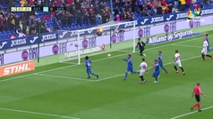 Gol de Jorge Molina (2-0)  Getafe 3-0 Sevilla