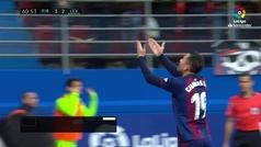 Gol de Charles (p.) (3-2) en el Eibar 4-4 Levante