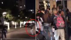 Sigue la violencia extrema en USA: brutal paliza al dueño de una tienda que amenazó a un joven negro