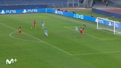 Gol de Sané (0-3) en el Lazio 1-4 Bayern