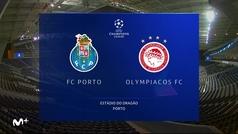 Champions League (J2): Resumen del Oporto 2-0 Olympiacos
