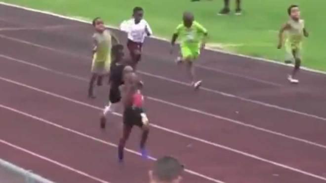 Conoce al niño 'súperatleta' que es comparado con Usain Bolt (+Vídeos)