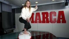 """El renacer de Leticia Canales: """"Surfeo mejor que antes de romperme la rodilla"""""""