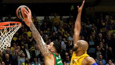 Así se gana un partido: Revive el matazo de Poirier al Maccabi