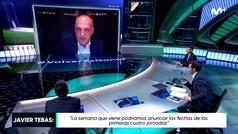 """Tebas: """"Nuestra ilusión es volver el jueves 11 de junio con el Sevilla-Betis"""""""