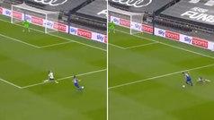 Dónde iba Reguilón: el doble error en su debut con el Tottenham