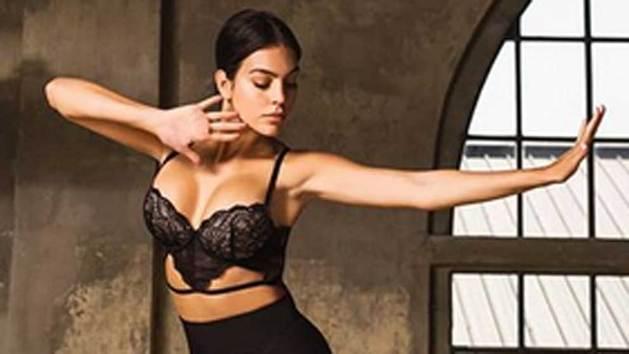 """Georgina Rodríguez baila en lencería sin Cristiano Ronaldo: """"Tú eres arte"""""""