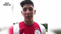 Edson Álvarez manda mensaje a los fans del Ajax tras su debut