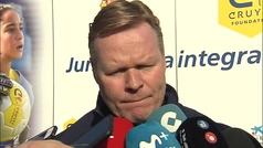 """Koeman: """"Para De Jong y De Ligt lo importante es jugar cada semana"""""""
